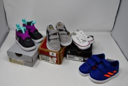 One pair of childrens as new Adidas AltaSport CF I shoes size UK 7K (G27108. no box). One pair of