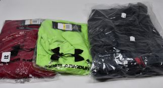 One as new New Balance NBST Graft Oh Hoodie size M. One men's as new Under Armour Tech Short