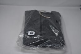 One as new Ralph Lauren Cotton Blend Fleece Hoodie Alaskan Heather size L (710548546005).