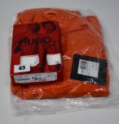 One as new Mammut Nair Midlayer jacket for men size L. One as new Hugo Boss blue trunks (twin