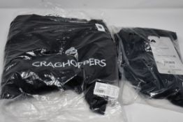One as new Craghoppers unisex Aysgarth trousers size 16S. One as new Altura Progel Waist short
