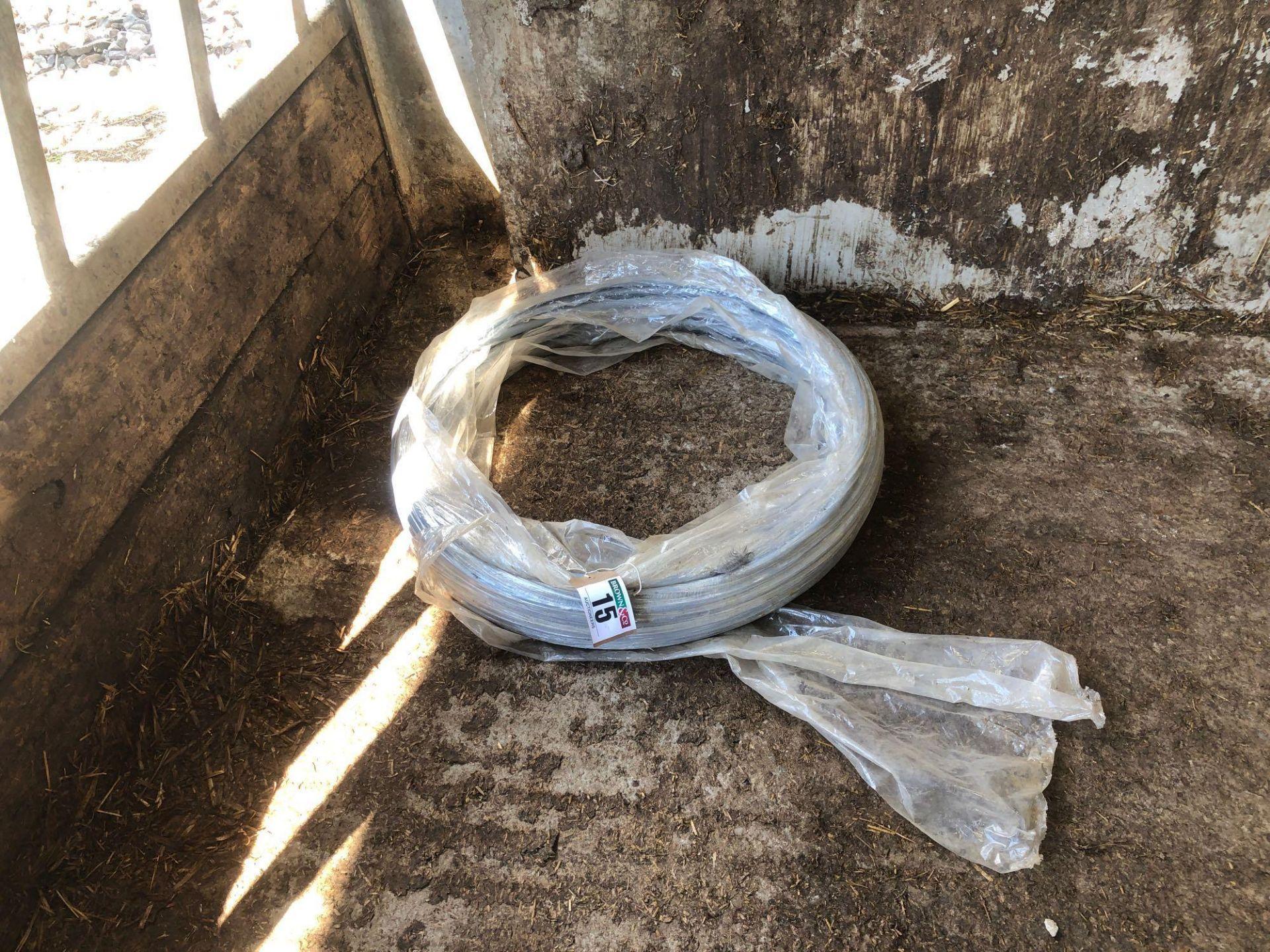 Lot 15 - Quantity plastic pipe