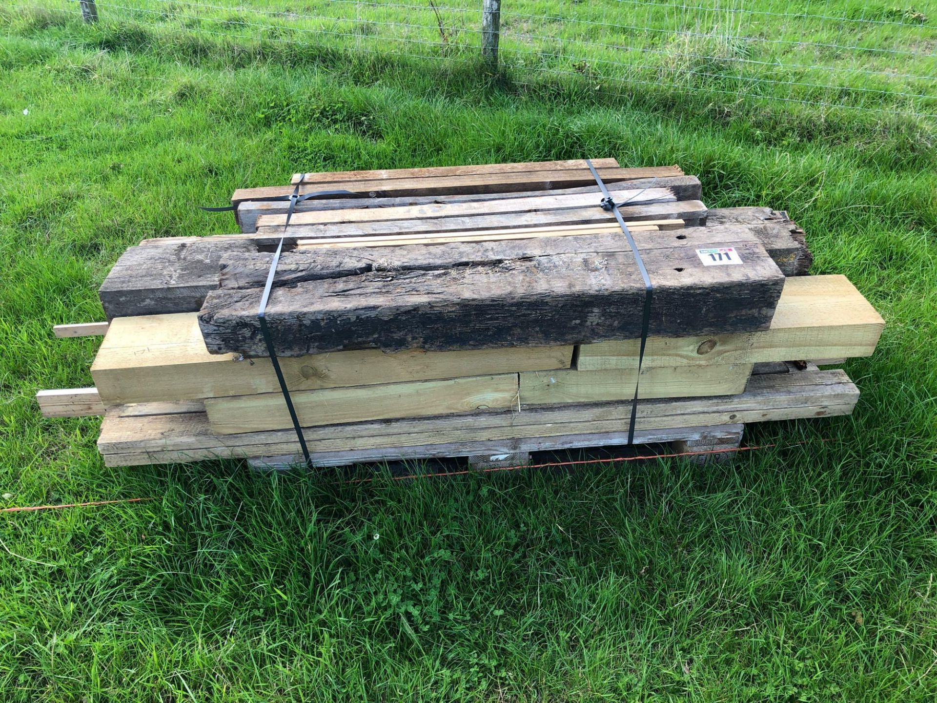 Lot 171 - *Quantity assorted timber. VAT Payable on this lot