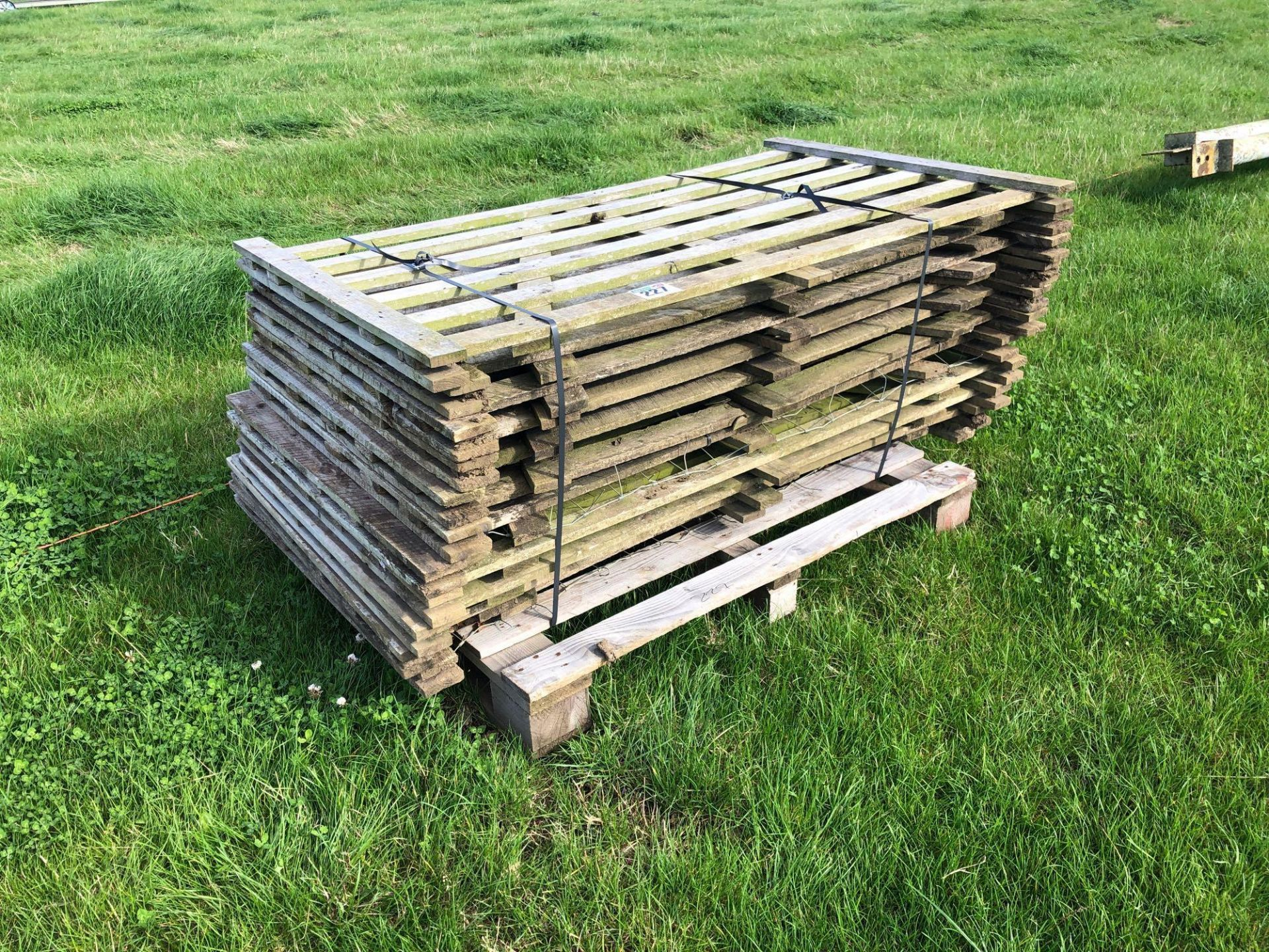 *Quantity of wooden hurdles.VAT Payable on this lot - Image 2 of 2