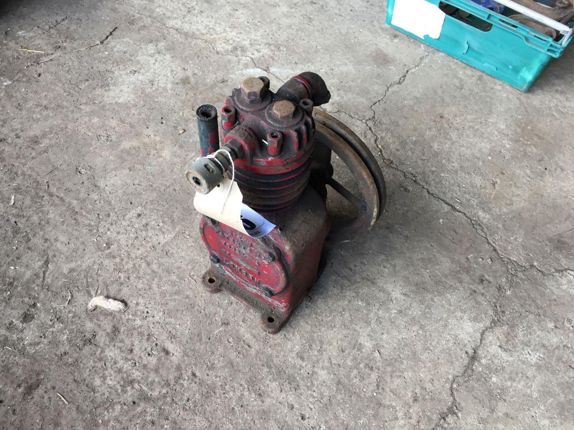 Lot 156 - Belt driven compressor pump