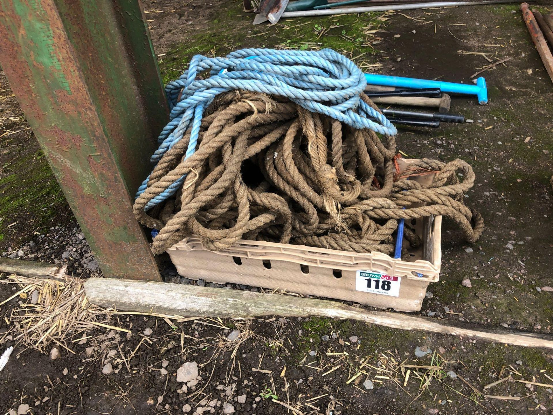 Lot 118 - Quantity rope