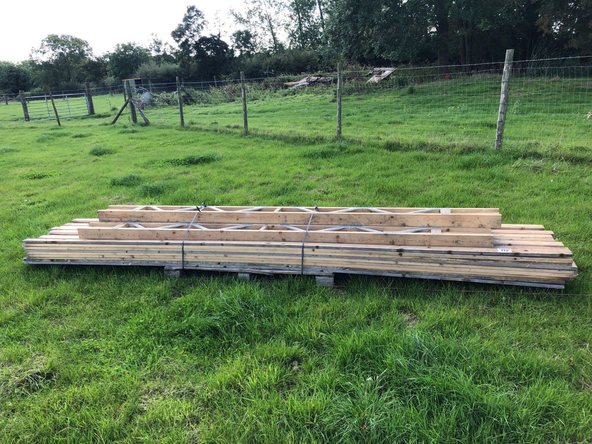 Lot 172 - *Quantity assorted timber. VAT Payable on this lot