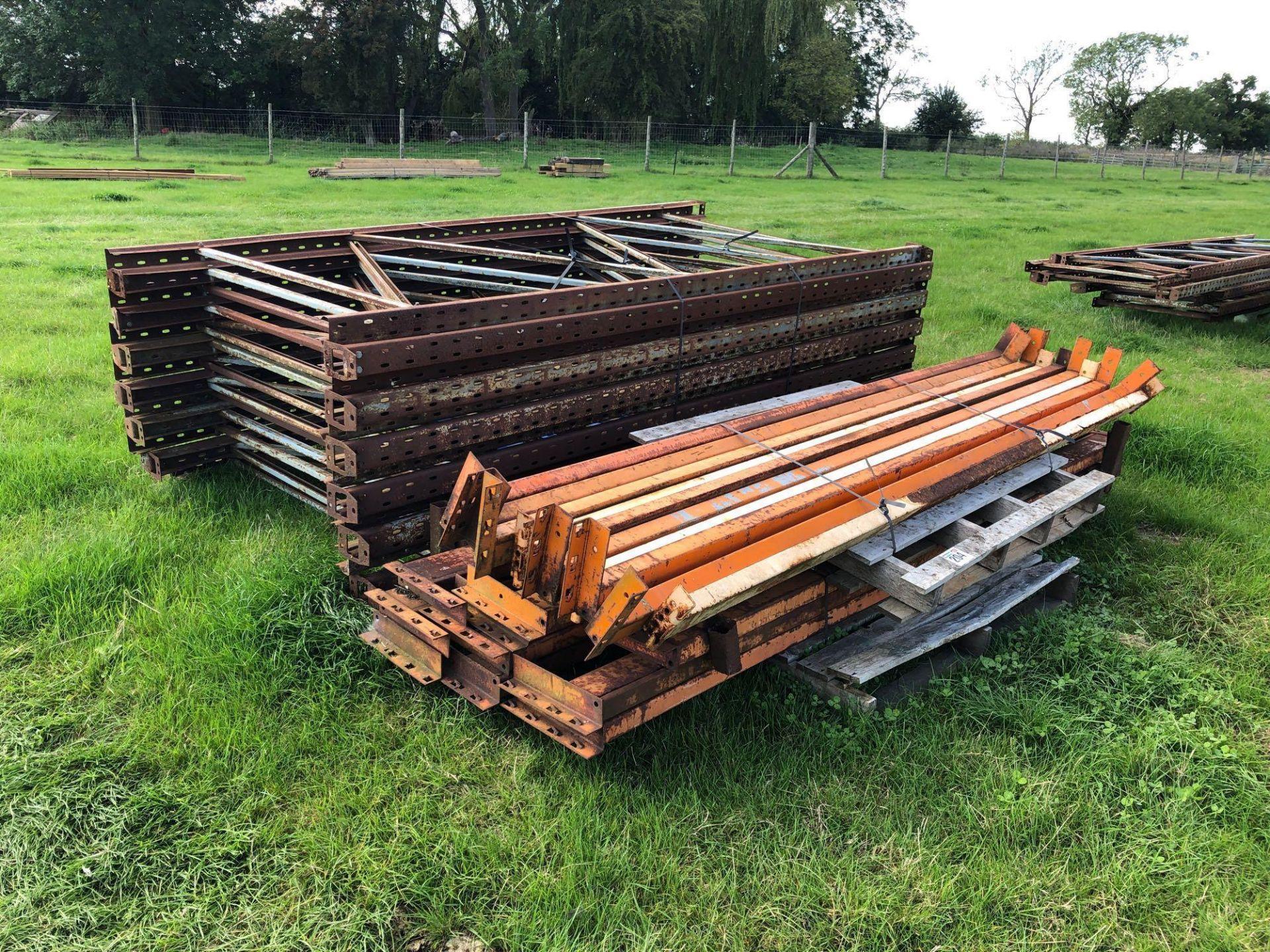 Lot 204 - Quantity pallet racking