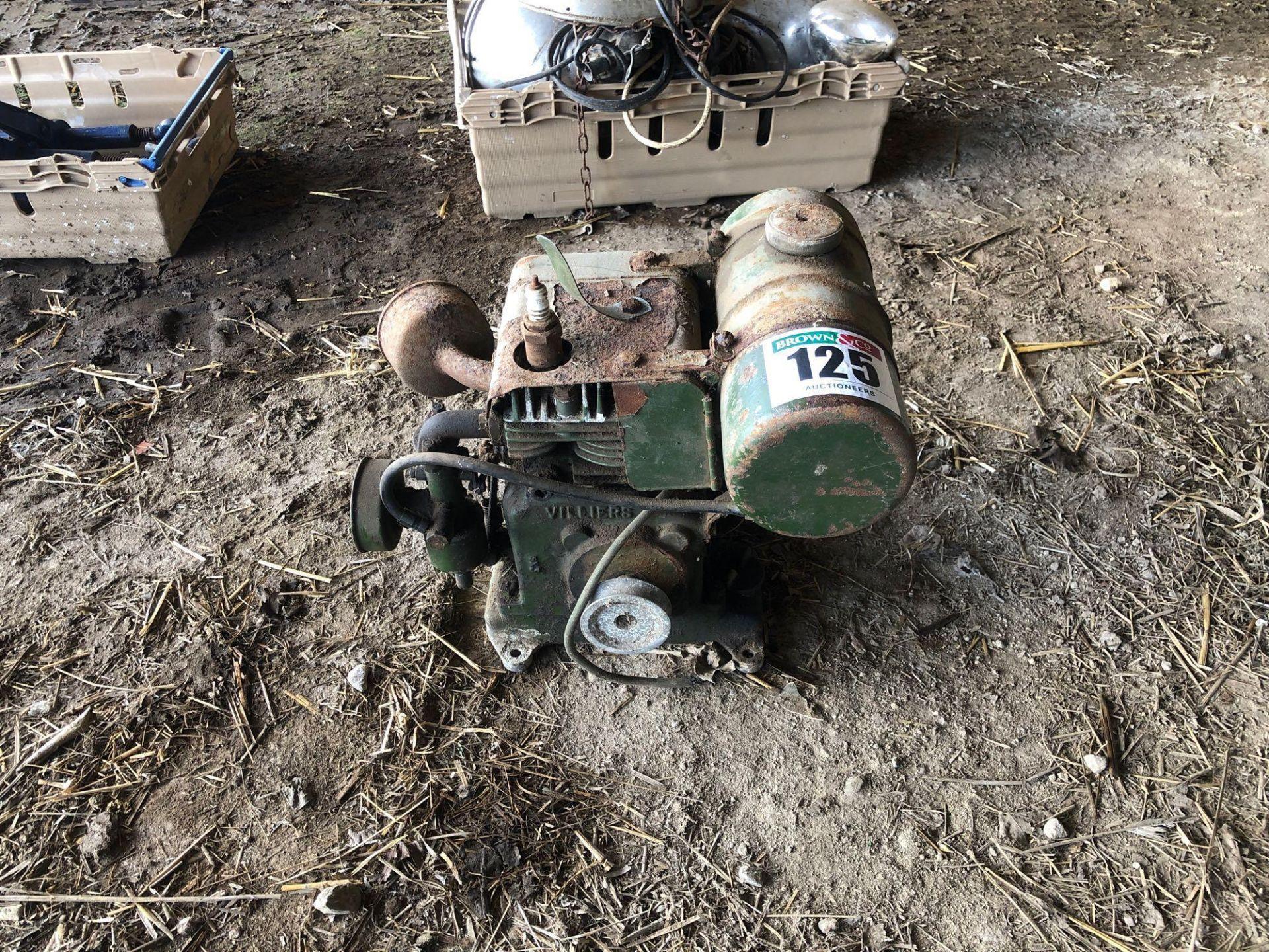 Lot 125 - Villers petrol engine
