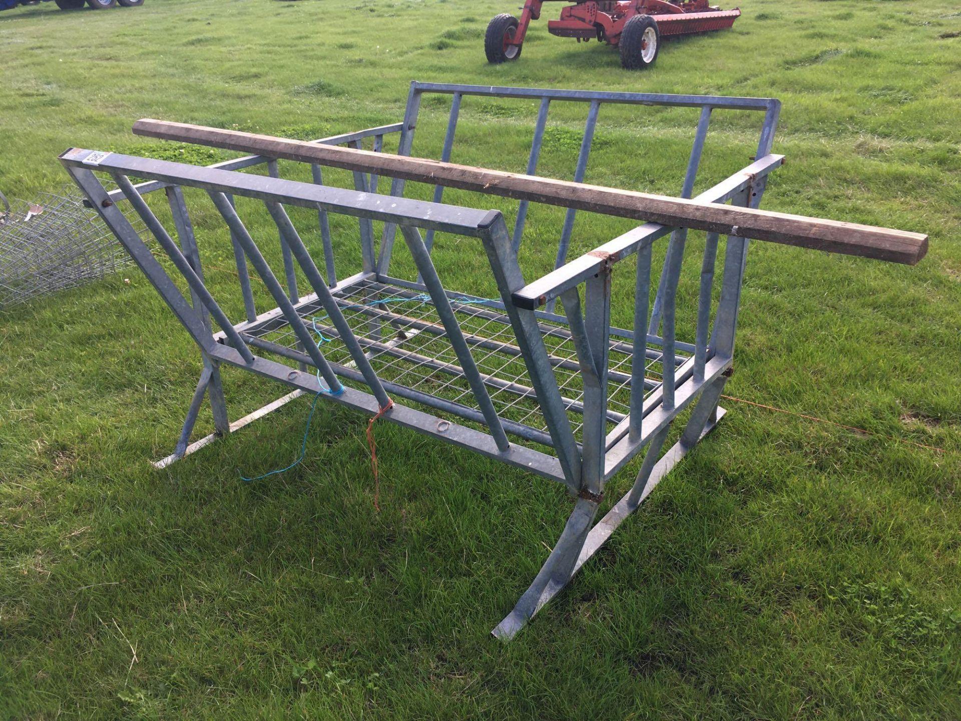 Lot 252 - *Galvanised hay rack.VAT Payable on this lot