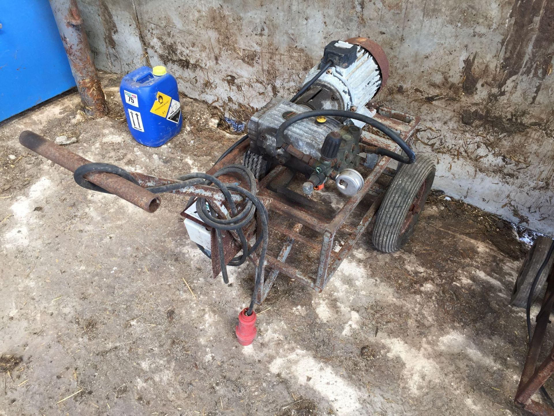 Lot 76 - Pressure washer, 3 phase