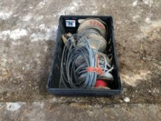 Quantity of electric cabling