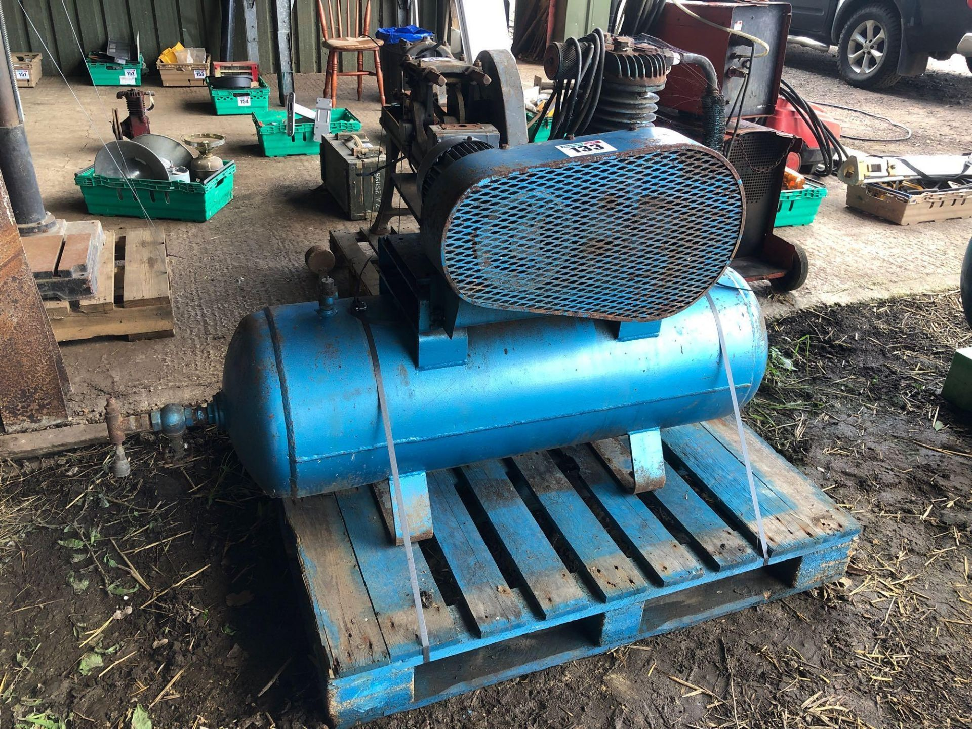 Lot 133 - 1974 Bromwade AC10 compressor, single phase