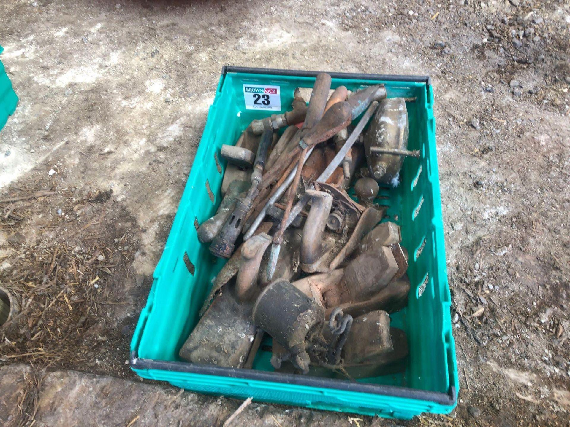 Lot 23 - Quantity hand tools