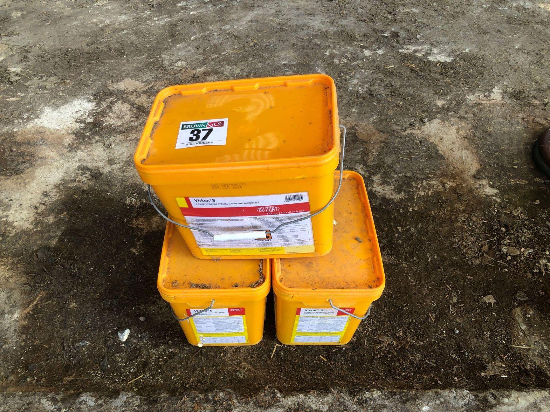 Lot 37 - Quantity Virkon disinfectant