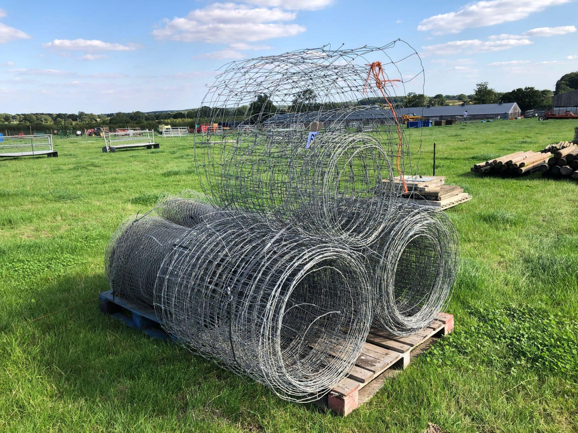 Lot 223 - Quantity of wire netting