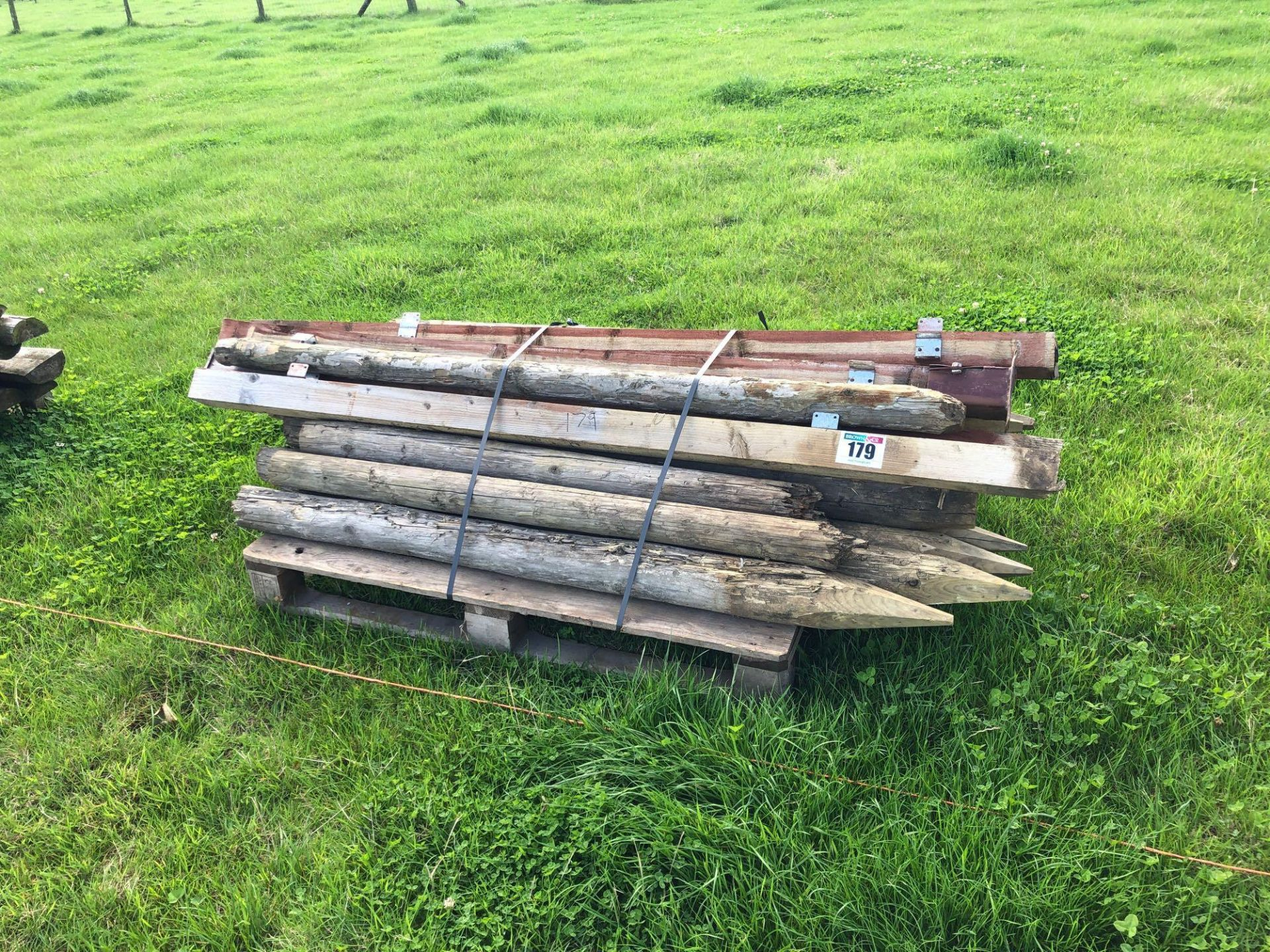 Lot 179 - Quantity assorted timber