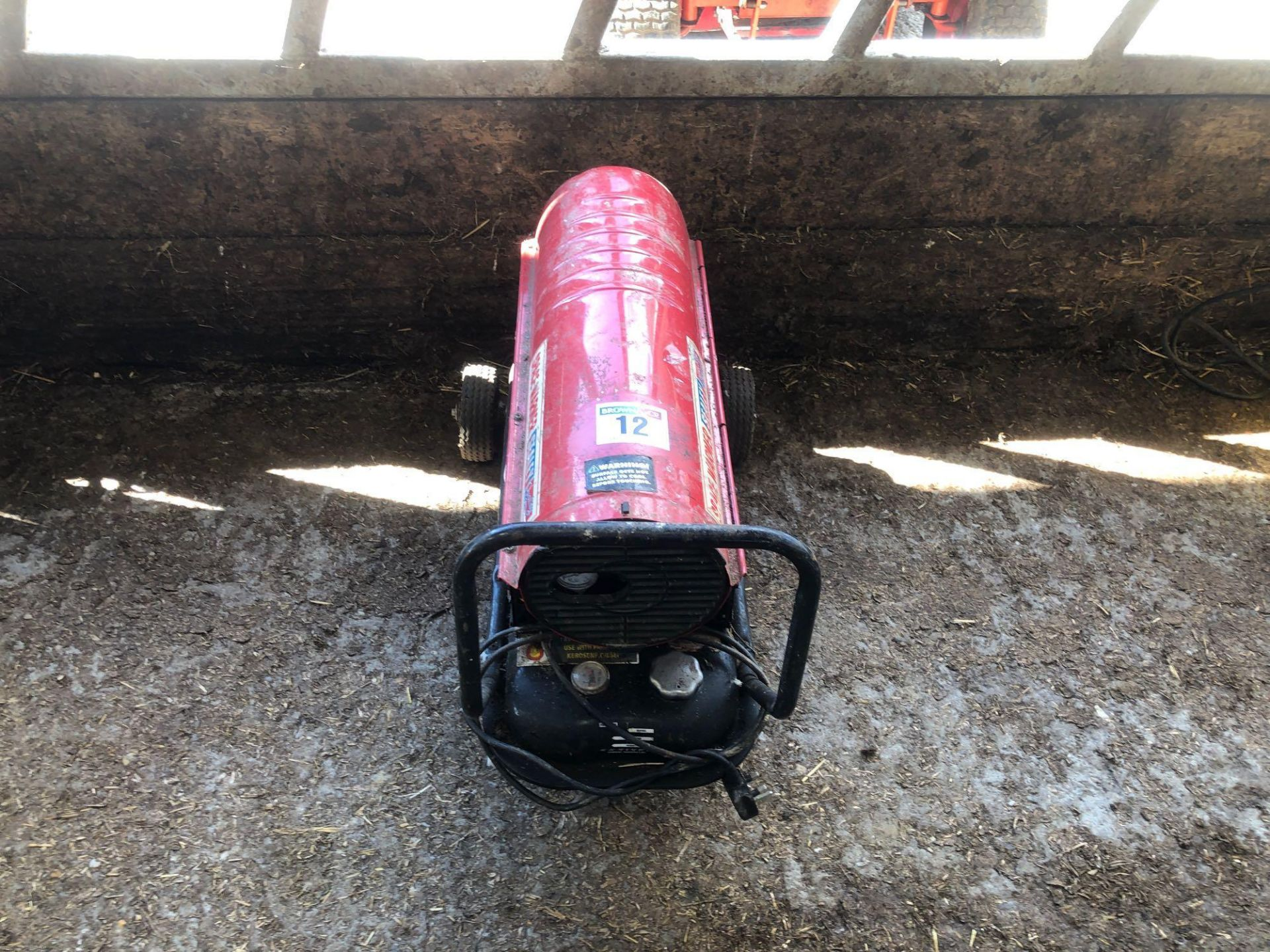Lot 12 - Sealey space heater, single phase