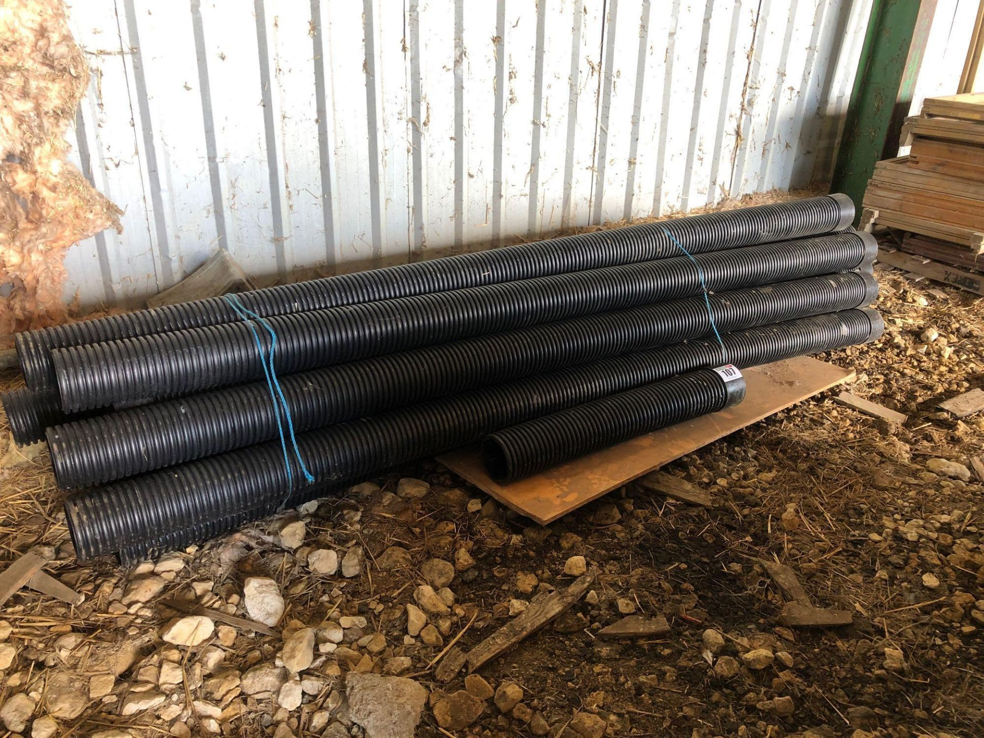 Lot 107 - Quantity electric ducting pipes