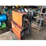 Weldspare 301 MIG welder, single phase