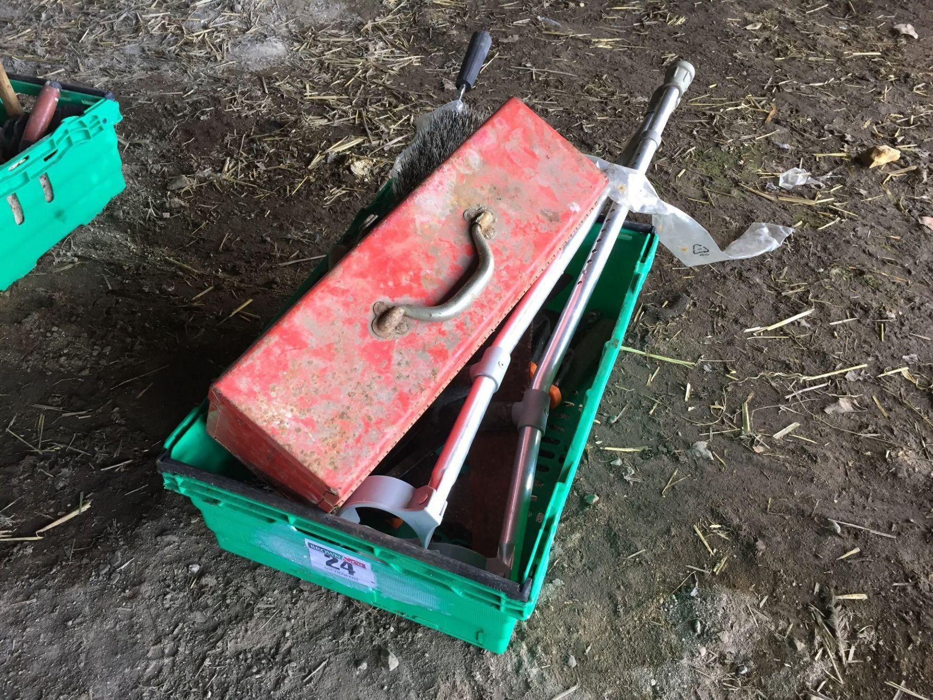 Lot 24 - Quantity hand tools