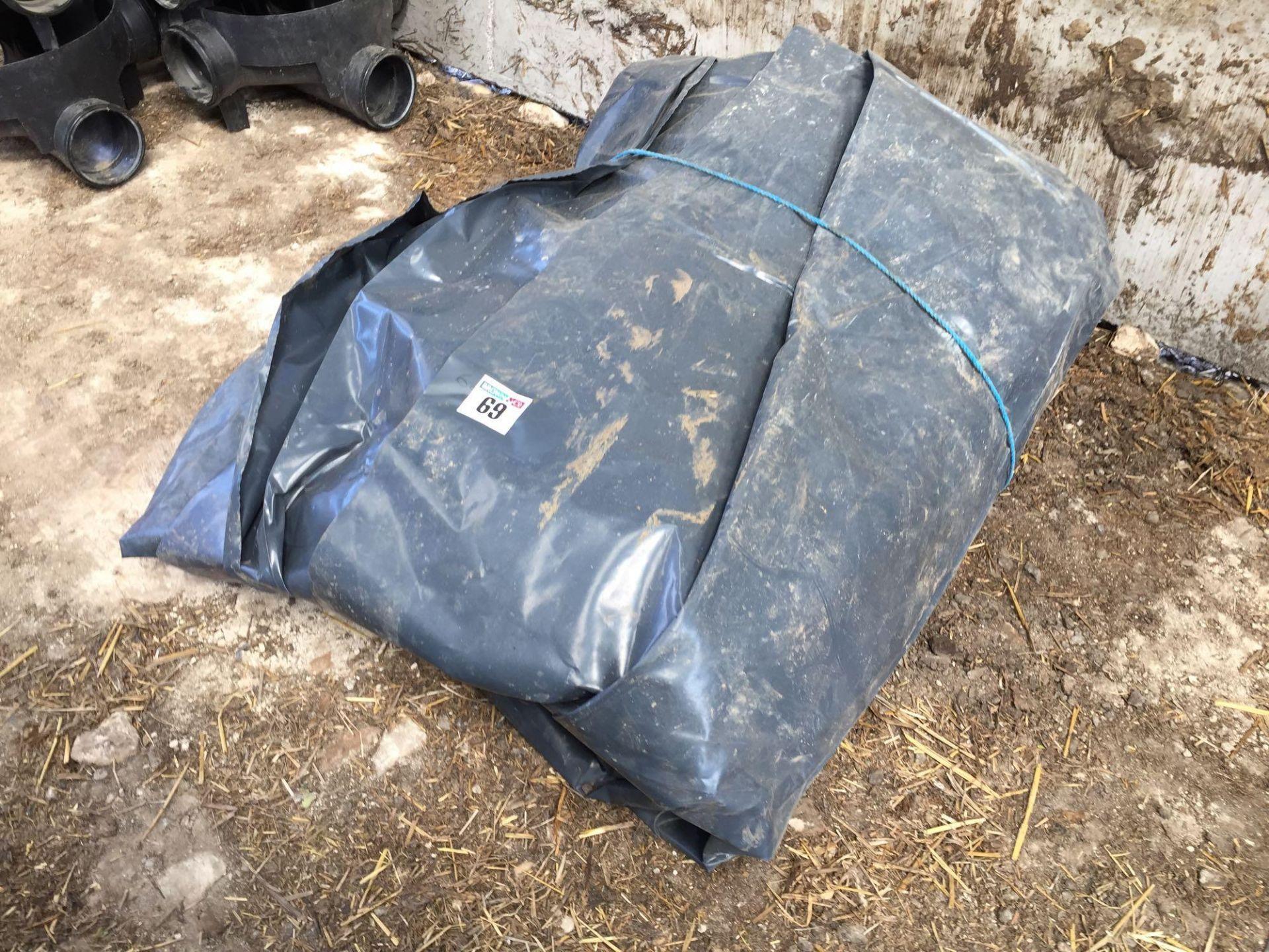 Lot 69 - Quantity plastic sheeting