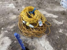 Quantity extension cables, single phase