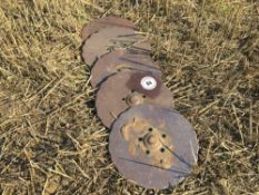 Quantity used Vaderstad Rapid drilling discs (5)