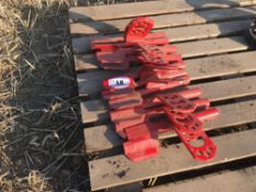 Quantity new Vaderstad Rapid left hand coulters (9)