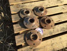 Quantity new Vaderstad Rapid drilling disc hubs (5)
