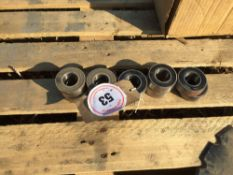 Quantity new Vaderstad Rapid drilling disc bearings (10)