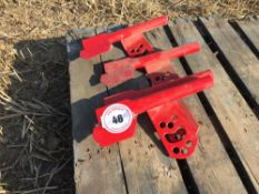Quantity new Vaderstad Rapid right hand coulters (4)