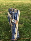 Qty of electric fencing stakes