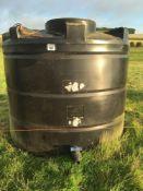 Eundramaxx 4000 litre water tank