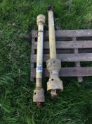 2 x PTO shafts