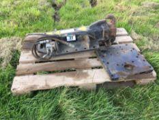 Merlo hydraulic pick up hitch