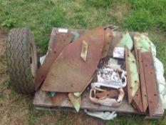 Qty Dowdeswell plough parts.NO VAT.