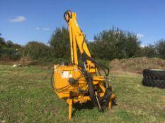 Bomford B608 hedge cutter model 9018485. NO VAT.
