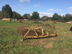 14ft linkage mounted chain harrows
