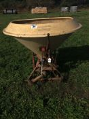 Vicon fertiliser / seed spreader s/n 75110 27561.NO VAT.
