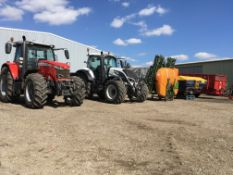 SALE BY ONLINE TIMED AUCTION OF MODERN FARM MACHINERY AND EQUIPMENT