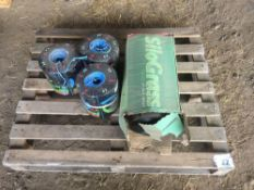 3 rolls of conventional baler twine and silage wrap