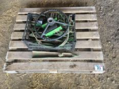 Qty of John Deere combine lifters and spares