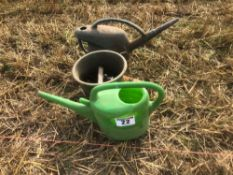 Watering cans and parts