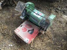 Truecraft bench grinder