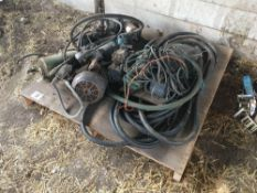Quantity electric motors