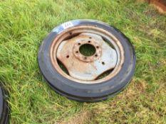 Single 4.00-19 tyre