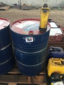 Quantity of 15w40 engine oil with pump