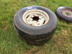 2No. 7.50-16 tyres