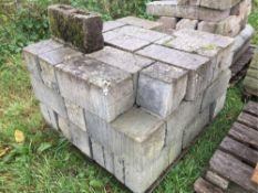 Quantity of breeze blocks